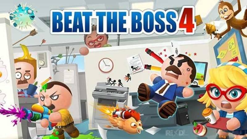 Beat The Boss 4 MOD APK 1.7.5 (Free Shopping & Coins)