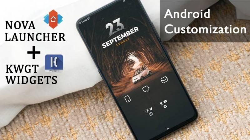 KWGT Kustom Widget Maker MOD APK 3.57b121814 (Premium Unlocked)