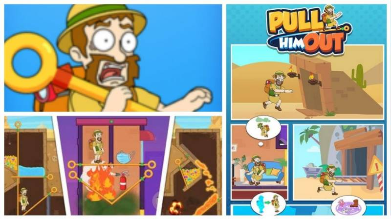 Pull Him Out MOD APK 1.3.0 (Unlimited Coins & Unlocked All)