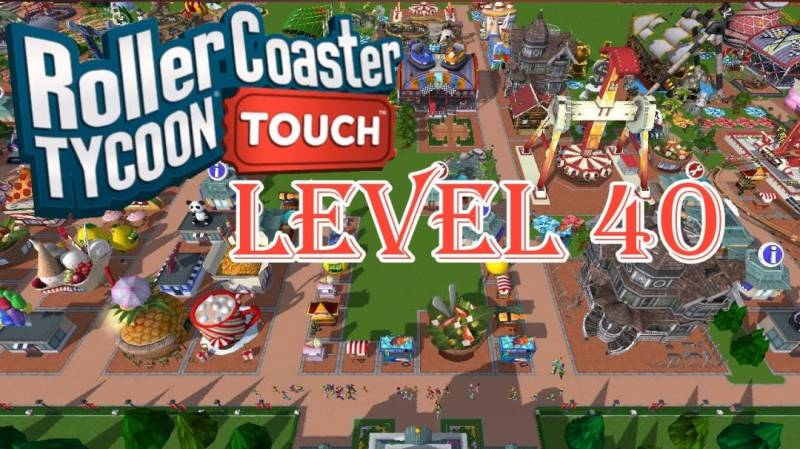 RollerCoaster Tycoon Touch MOD APK 3.20.34 (Unlimited Money)