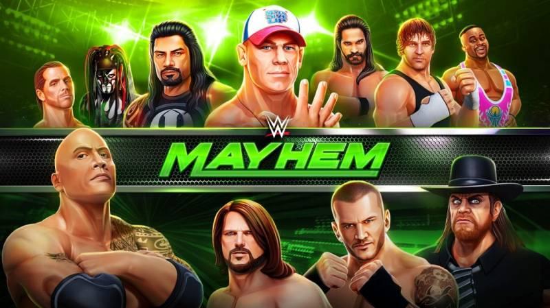 WWE Mayhem MOD APK 1.48.129 (Unlimited Money)