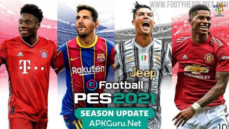 eFootball PES 2021 Download 5.5.0 Free On Android
