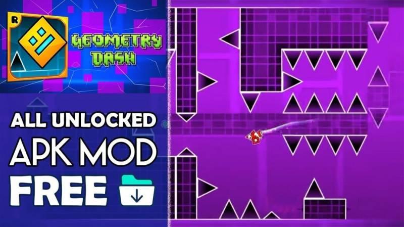 Geometry Dash MOD APK 2.111 Download (Unlocked)