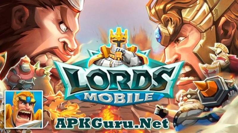 Lords Mobile MOD APK 2.58 Download Latest (Auto PVE, VIP Unlock)