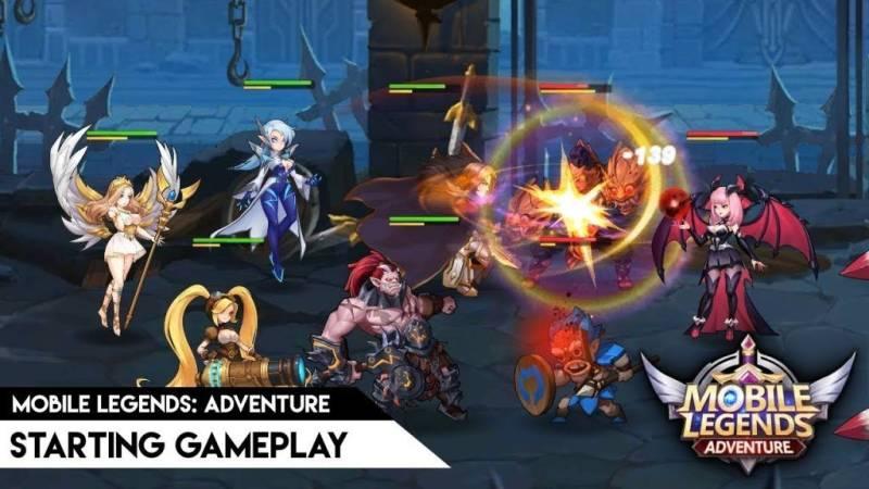 Mobile Legends: Adventure MOD APK 1.1.199 (Unlimited Money)