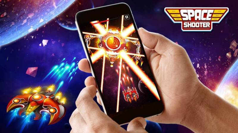 Space Shooter: Galaxy Attack MOD APK 1.531 (Unlimited Money)
