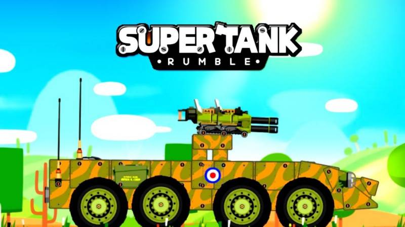Super Tank Rumble MOD APK 4.7.4 (Unlimited Money)