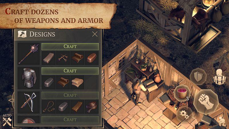 Grim Soul: Dark Fantasy Survival MOD APK 3.2.0 (Unlimited Craft)