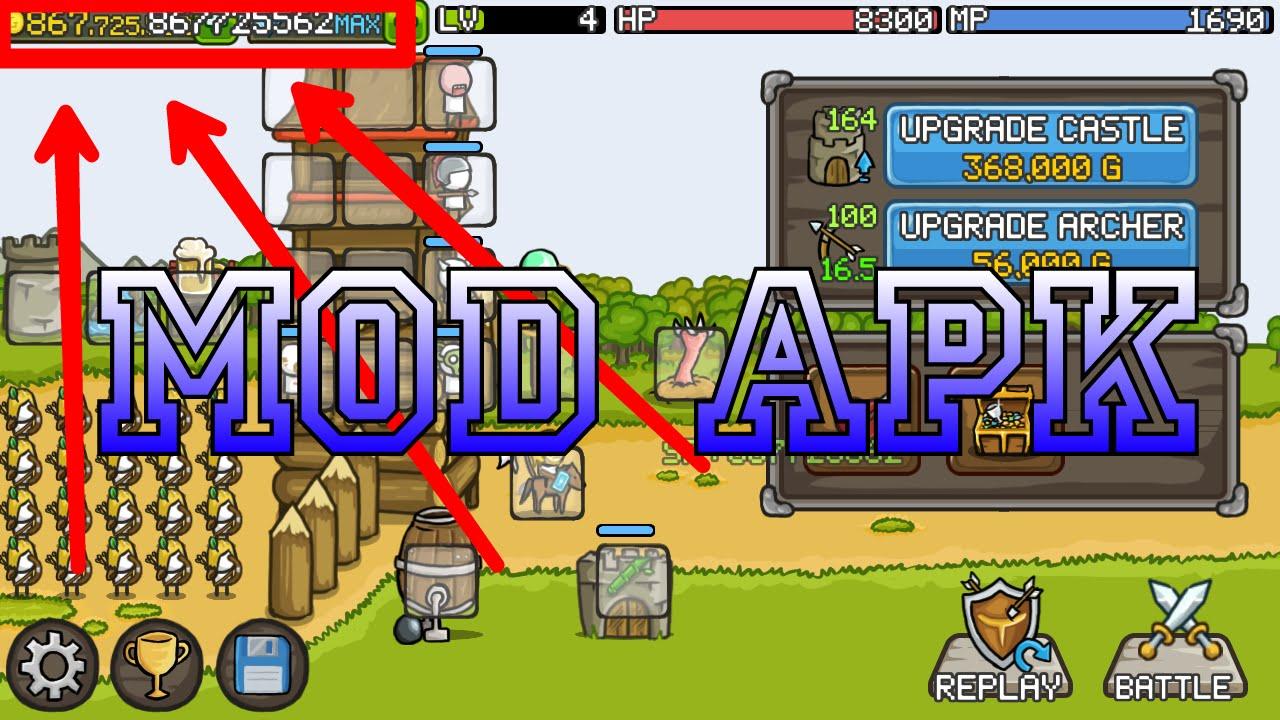 Grow Castle MOD APK 1.34.2 Download (Unlimited Coins)