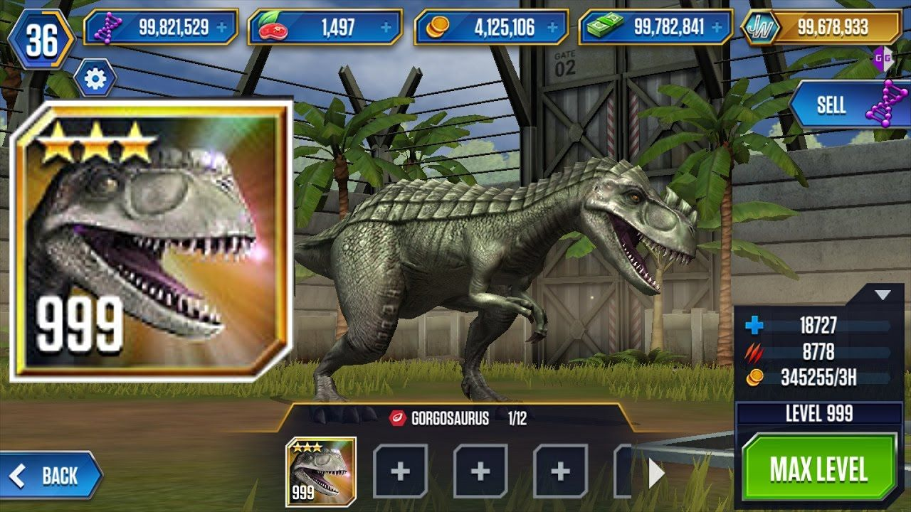 Jurassic World MOD APK 1.52.17 (Features Unlocked)