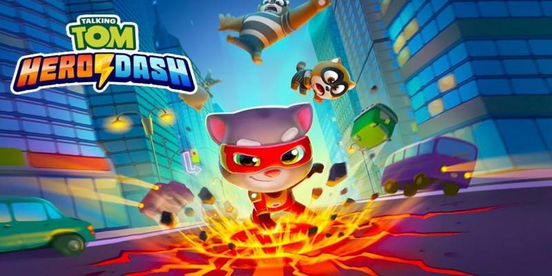 Talking Tom Hero Dash MOD APK Download