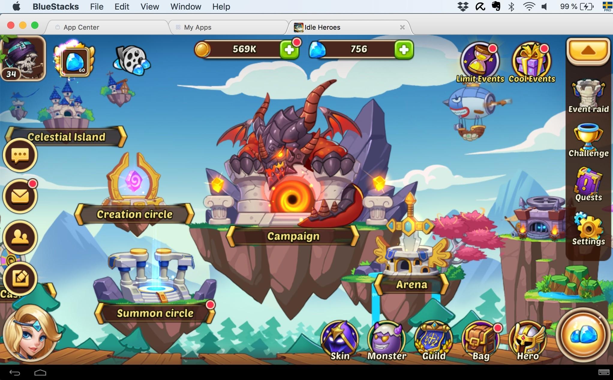 Idle Heroes MOD APK 1.26.0 (Unlimited Money & Unlocked Heroes)