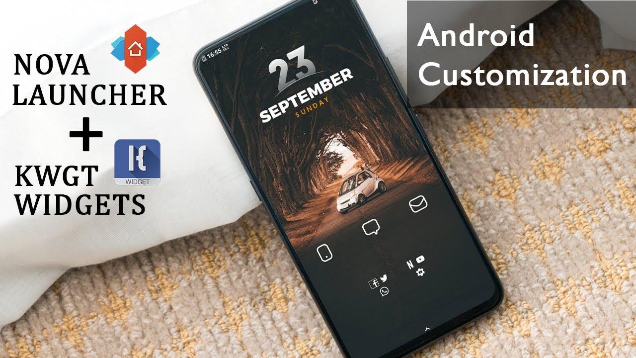 KWGT Kustom Widget Maker MOD APK 3.56b114416 (Premium Unlocked)
