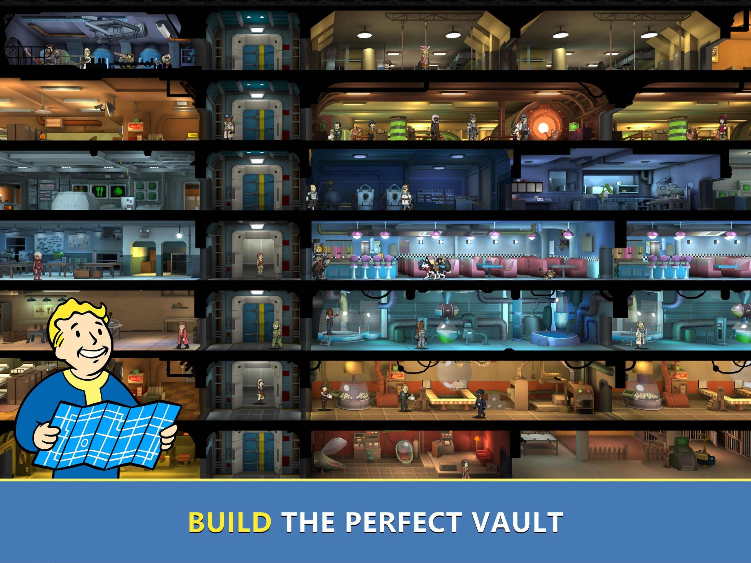 Fallout Shelter MOD APK 1.14.10 (All Unlimited & Data Android)
