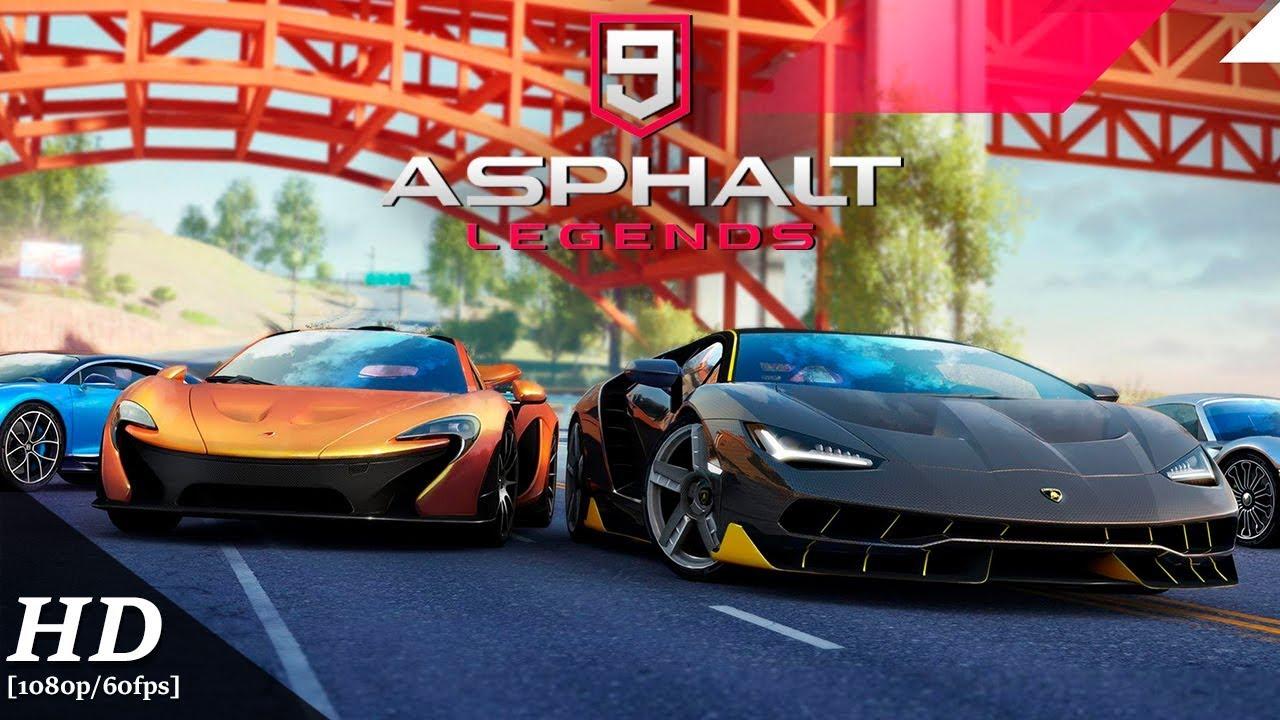 Asphalt 9: Legends MOD APK 2.9.3a (Unlimited Nitro, Speed Hack & Unlocked Cars)