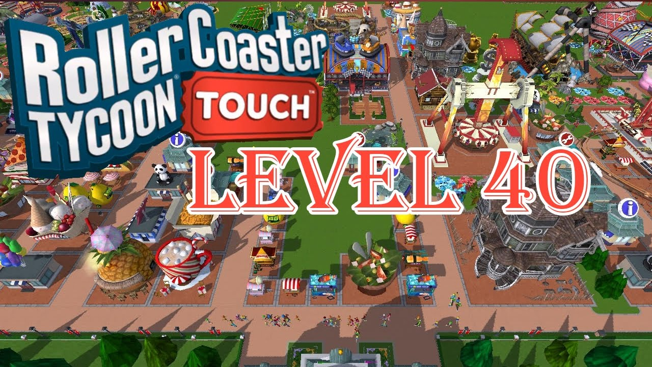 RollerCoaster Tycoon Touch MOD APK 3.18.14 (Unlimited Money)