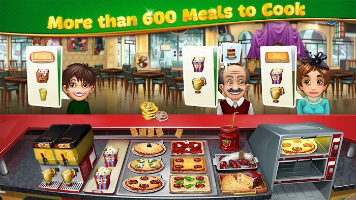 Cooking Fever MOD APK 12.0.0 [Unlimited Money & Gems]