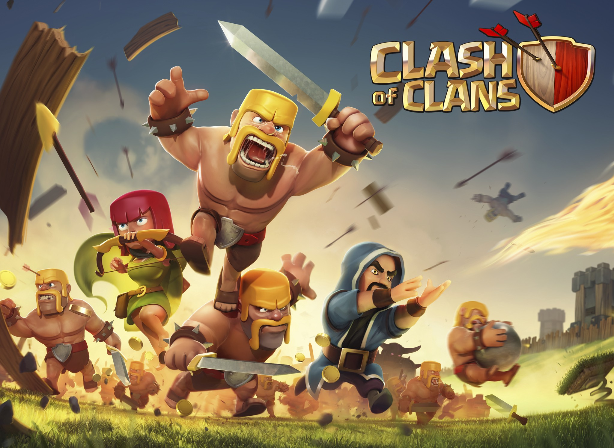 Clash of Clans MOD APK 14.93.4 (Unlimited Gems/Oils)