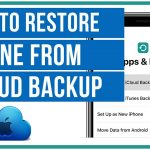 How to Restore iPhone using iCloud & iTunes Back-up - Guide 2021